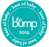 Best of Baby Awards 2015 - The Bump Award Logo