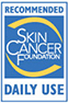 Recommended by the Skin Cancer Foundation for Daily Use - Seal