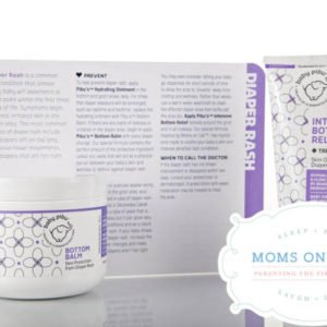moms on call, bottom balm and relief creams