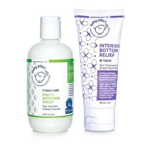 baby pibu diaper rash treatment bundle