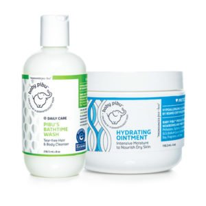 baby pibu eczema care treatment kit