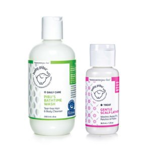 baby pibu cradle cap treatment bundle