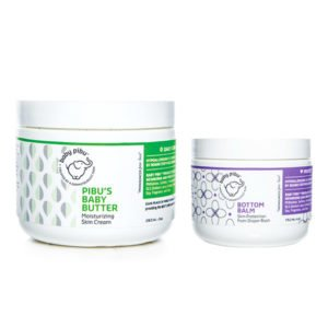 Diaper Rash Treatment - Bottom Balm and Baby Butter